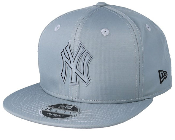 NEW ERA RIPSTOP 9FIFTY NEW YORK YANKEES. GREY from peaknation.co.uk