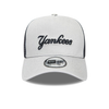 NEW ERA REVERSE TEAM A FRAME TRUCKER. NEW YORK YANKEES. GREY/NAVY from peaknation.co.uk