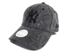 NEW ERA WOMENS DENIM WASHED 9FORTY STRAPBACK CAP. NEW YORK YANKEES. BLACK from peaknation.co.uk