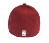 NEW ERA DIAMOND ERA 39THIRTY FITTED CAP. NBA CLEVELAND CAVALIERS. RED from peaknation.co.uk