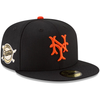 NEW ERA 59FIFTY FITTED CAP. MLB NEW YORK GIANTS WORLD SERIES. BLACK from peaknation.co.uk