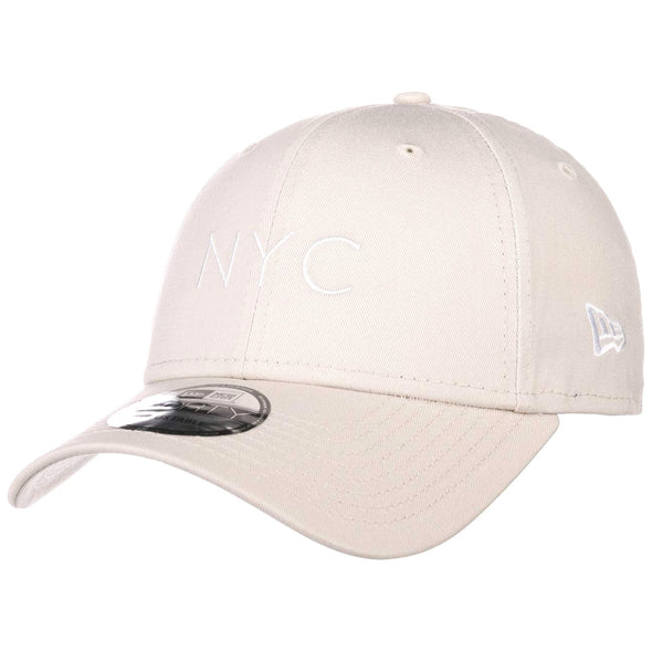 NEW ERA NYC SEASONAL 9FORTY STRAPBACK CAP. STONE from peaknation.co.uk