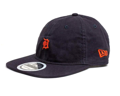 NEW ERA 9TWENTY ADJUSTABLE CAP. TEAM PACKABLE. DETROIT TIGERS. NAVY from peaknation.co.uk
