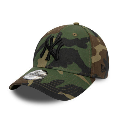 NEW ERA KIDS 9FORTY. NEW YORK YANKEES. CAMO from peaknation.co.uk