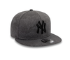 NEW ERA ENGINEERED PLUS 9FIFTY SNAPBACK CAP. NEW YORK YANKEES. GREY/BLACK from peaknation.co.uk