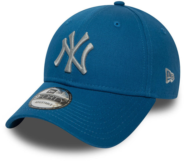 NEW ERA LEAGUE ESSENTIAL 9FORTY CAP. NEW YORK YANKEES. CARDINAL BLUE  from peaknation.co.uk