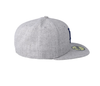 NEW ERA HEATHER GREY 59FIFTY FITTED CAP. LOS ANGELES DODGERS from peaknation.co.uk