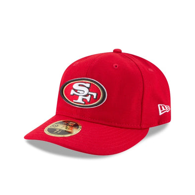 NEW ERA 59FIFTY FITTED CAP. RETRO CROWN LOW PROFILE SAN FRANCISCO 49ERS from peak nation