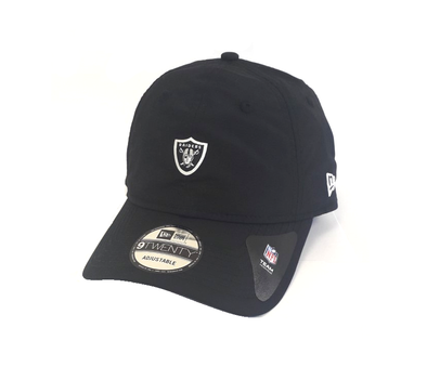 NEW ERA TEAM PACKABLE 9TWENTY. NFL OAKLAND RAINDERS. BLACK from peaknation.co.uk