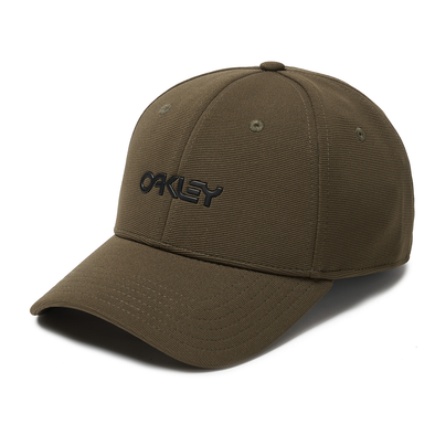 OAKLEY METALLIC CAP. 6 PANEL STRETCH HAT NEW DARK BRUSH. L/XL from peaknation.co.uk