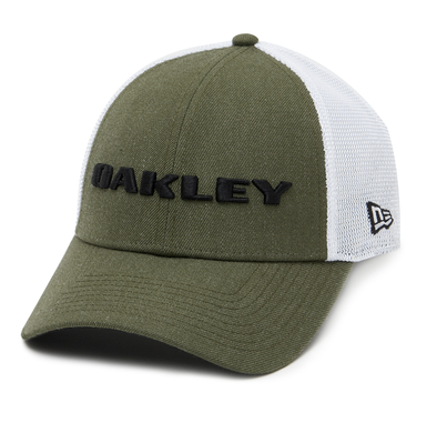 OAKLEY HEATHER NEW ERA 9FORTY CAP. DARK BRUSH from peaknation.co.uk