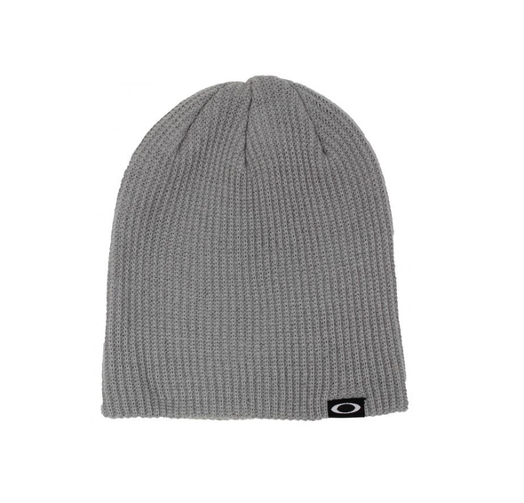 OAKLEY BACKBONE BEANIE. ALLOY from peaknation.co.uk