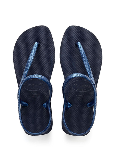 HAVAIANAS FLASH URBAN WOMENS SANDALS. NAVY