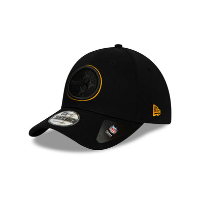 NEW ERA PITTSBURGH STEELERS LOGO OUTLINE BLACK 9FORTY CAP. from peaknation.co.uk