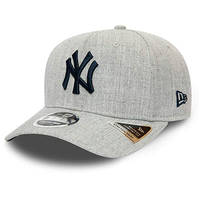 NEW ERA HEATHER BASE 9FIFTY CAP. NEW YORK YANKEES. HEATHER GREY from peaknation.co.uk