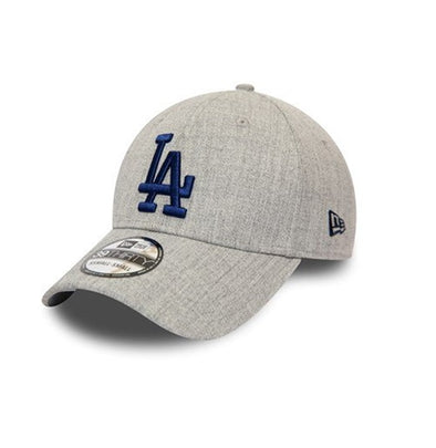 NEW ERA HEATHER GREY 39THIRTY FITTED CAP. LA DODGERS from peaknation.co.uk