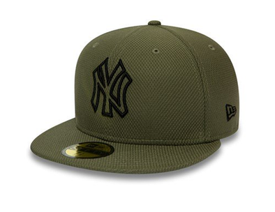 NEW ERA 59FIFTY FITTED CAP. DIAMOND ERA NEW YORK YANKEES. GREEN