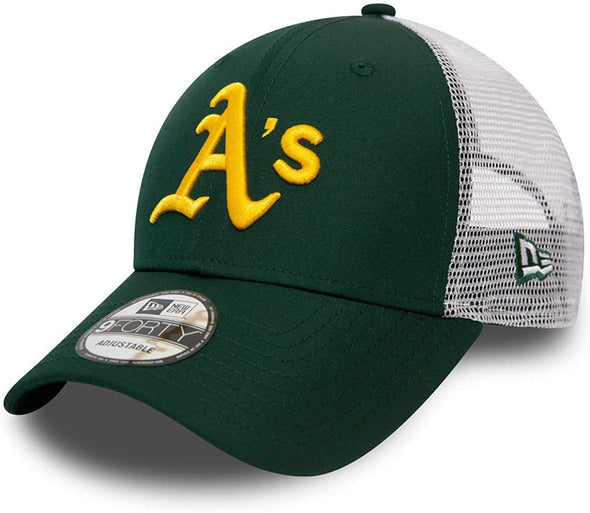 NEW ERA 9FORTY SUMMER LEAGUE TRUCKER. OAKLAND ATHLETIC. GREEN