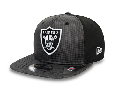 NEW ERA RIPSTOP FRONT 9FIFTY SNAPBACK. LAS VEGAS RAIDERS. NAVY