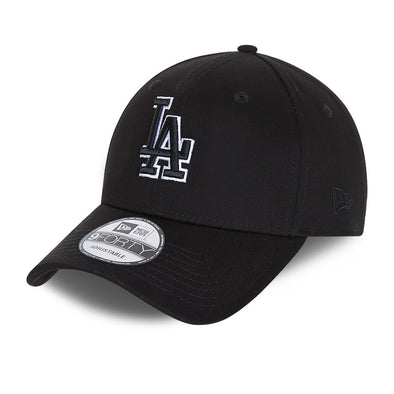 NEW ERA BLACK BASE 9FORTY SNAPBACK CAP. LA DODGERS. BLACK