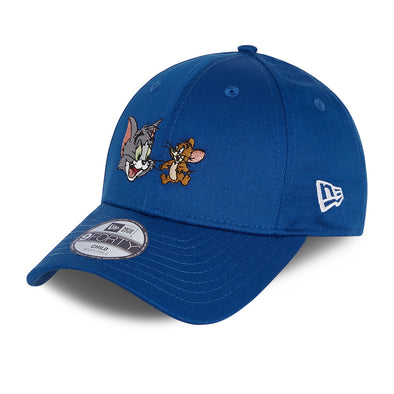NEW ERA KIDS 9FORTY CAP. TOM AND JERRY CY FILM CHARACTER. BLUE
