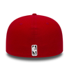 NEW ERA CHICAGO BULLS ESSENTIAL 59FIFTY. RED