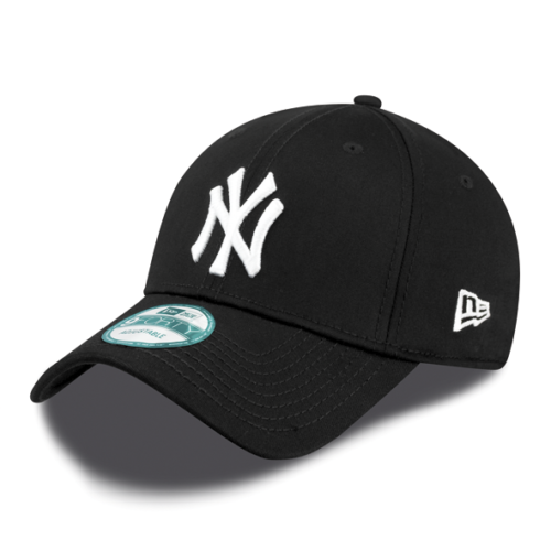 New Era - 9Forty Baseball Cap. New York Yankees. Black/White. From PeakNation.co.uk