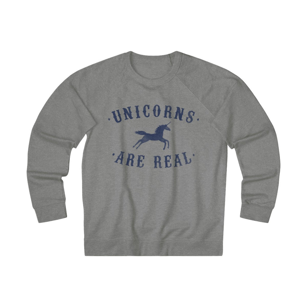 Graphite Heather | Unicorn Sweater - Style has no boundaries.com
