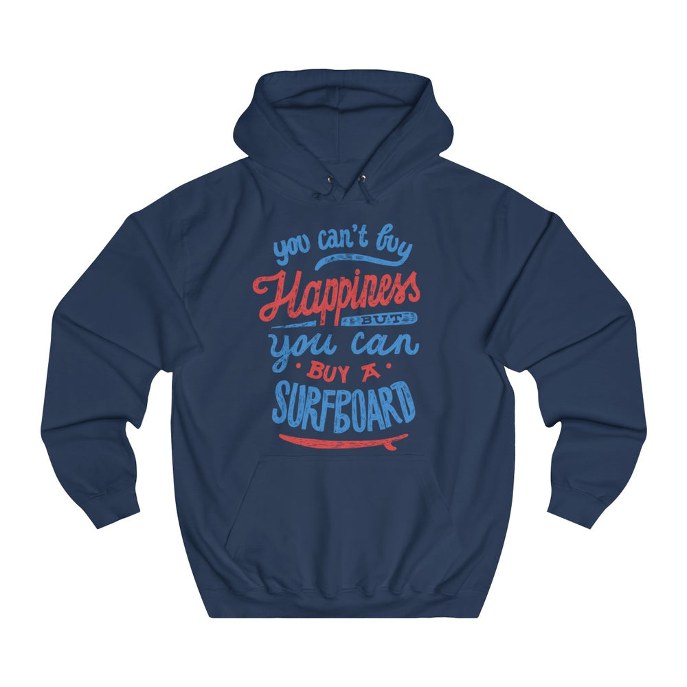 Happiness College Hoodie - Style has no boundaries.com