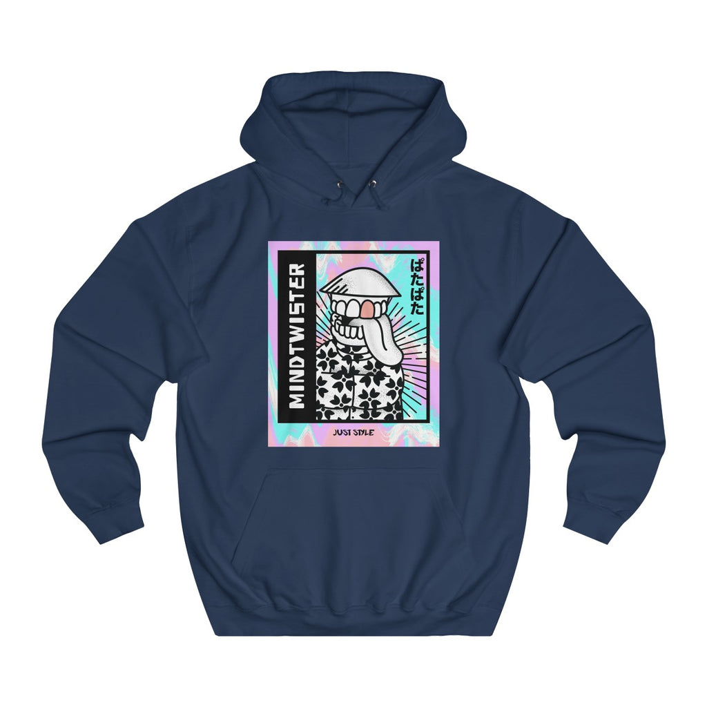 Oxford Navy | Mindtwister College Hoodie - Style has no boundaries.com