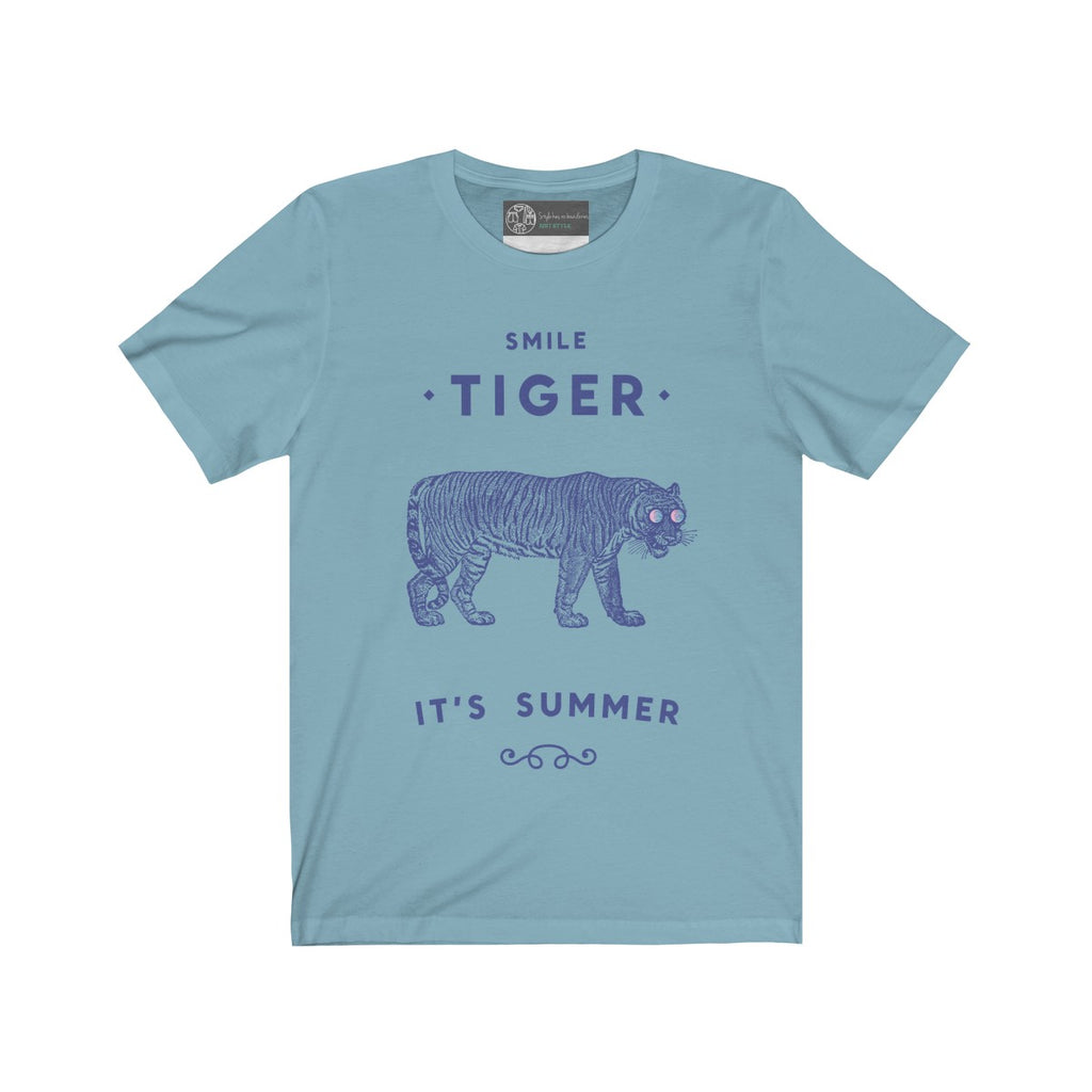Baby Blue | Summer Tiger - Style has no boundaries.com