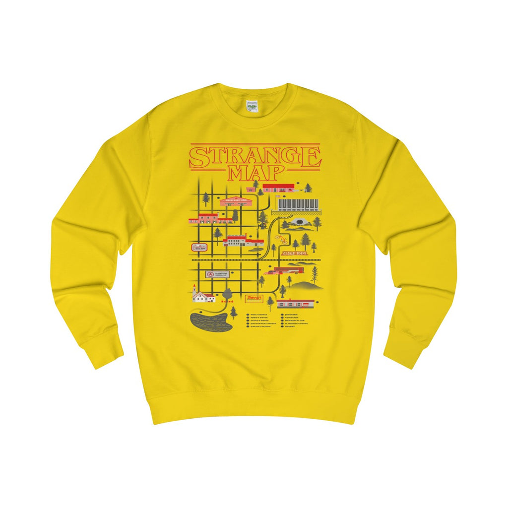 Sun Yellow | Upside Down Town - Style has no boundaries.com
