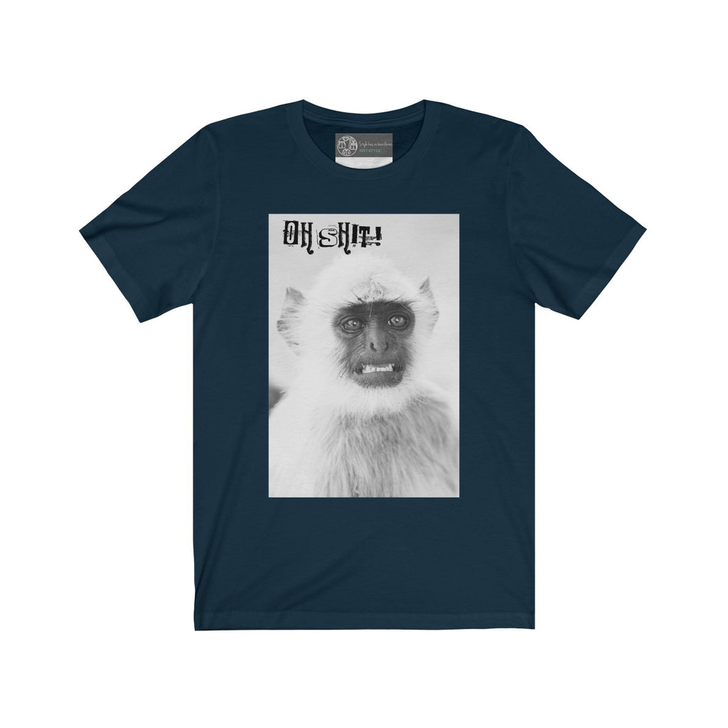 Navy | Monkey T-Shirt - Style has no boundaries.com