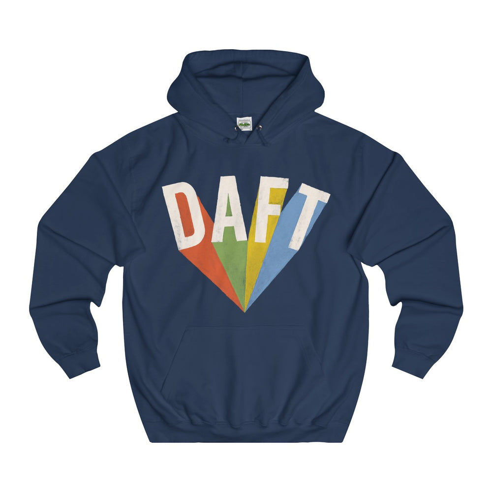 DAFT College Hoodie - Style has no boundaries.com