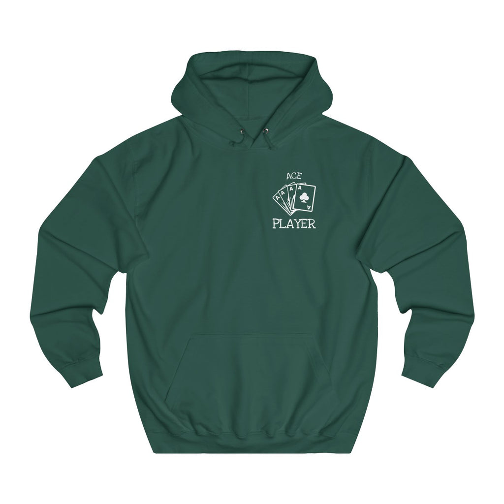 Bottle Green | Ace College Hoodie - Style has no boundaries.com