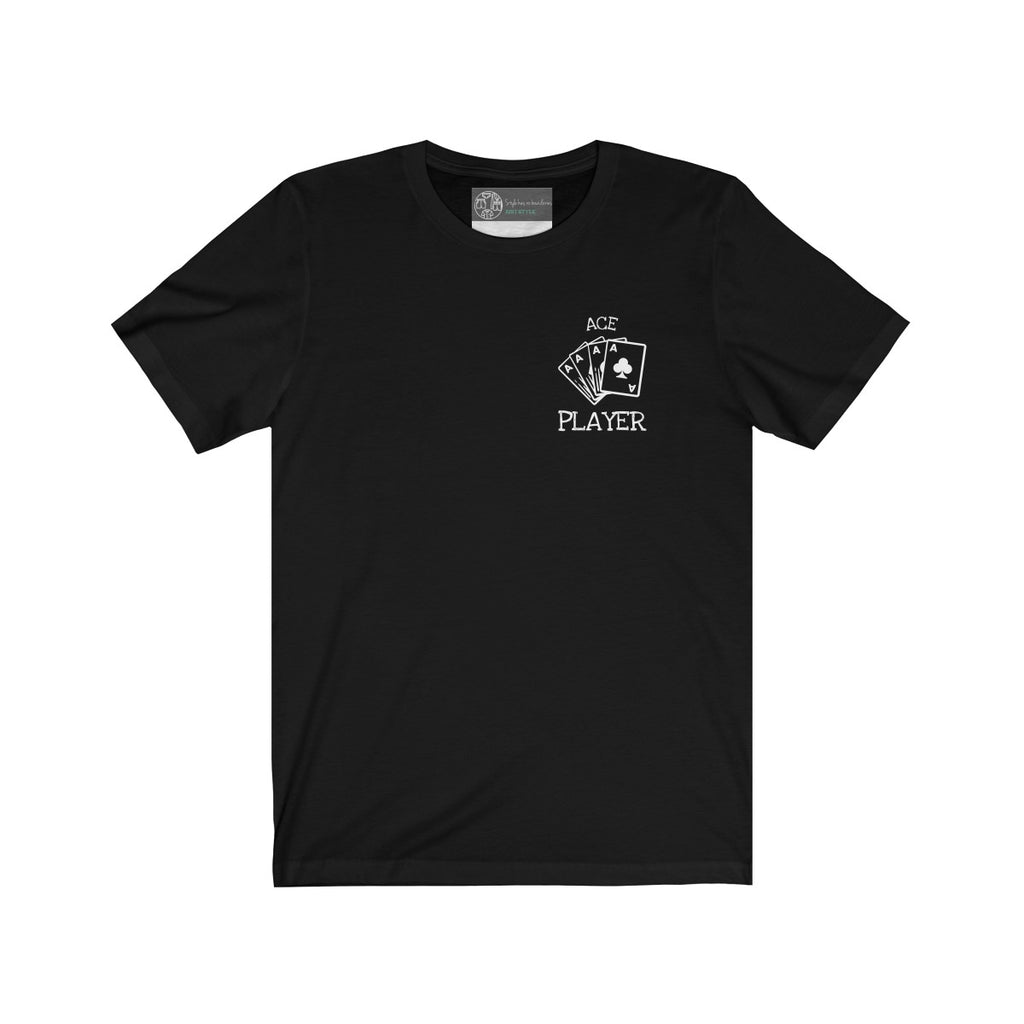 Black | Ace T-Shirt - Style has no boundaries.com