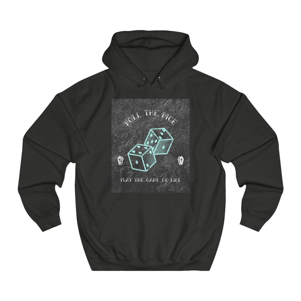 Jet Black | Game of Life College Hoodie - Style has no boundaries.com