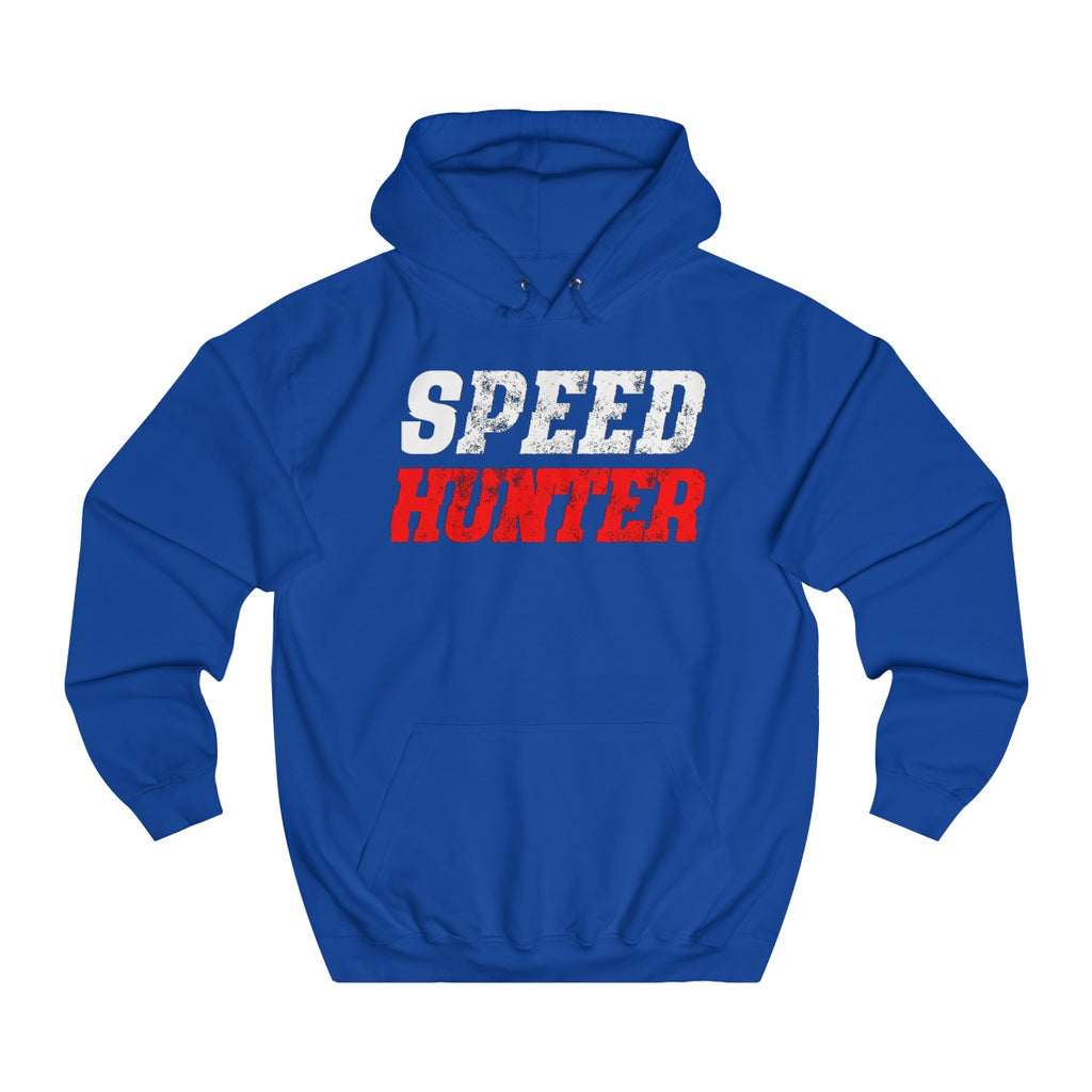 Royal Blue | Speed College Hoodie - Style has no boundaries.com