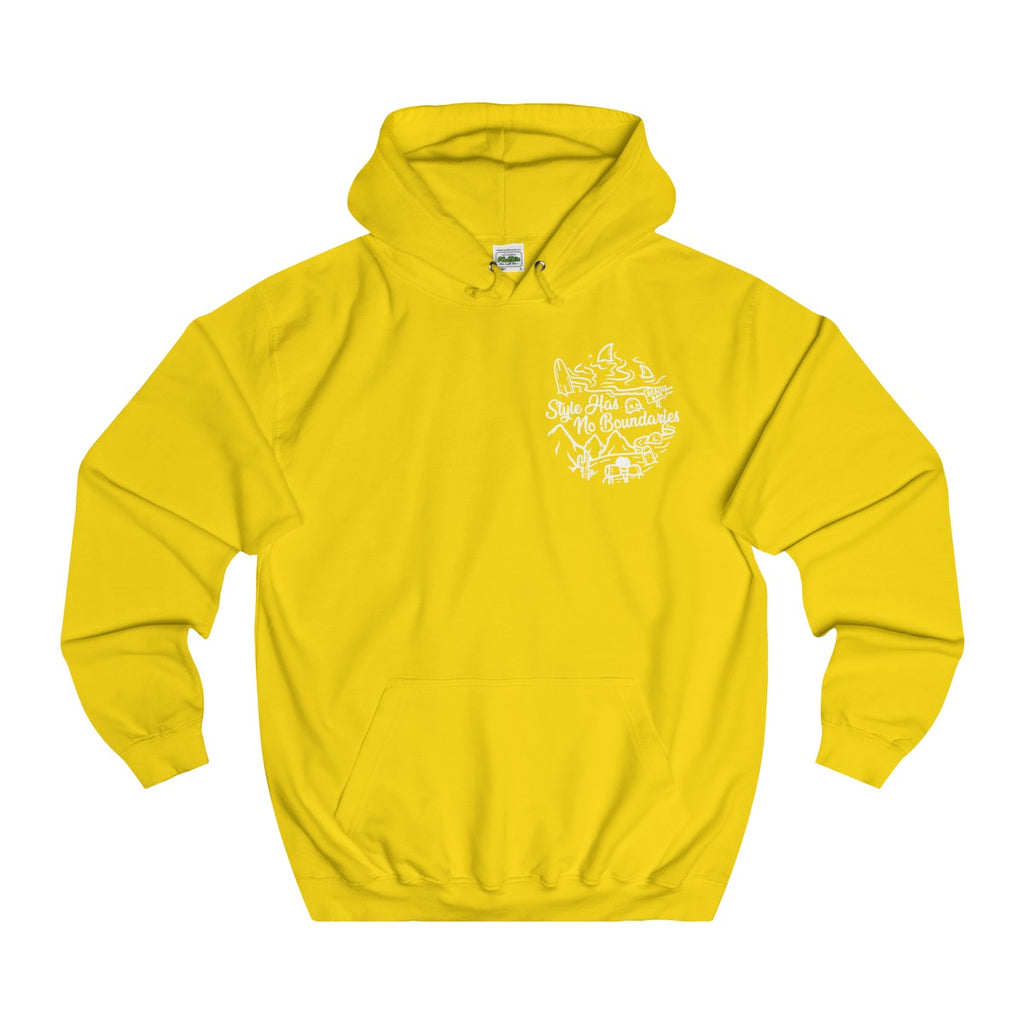 Sun Yellow | Just Style College Hoodie - Style has no boundaries.com