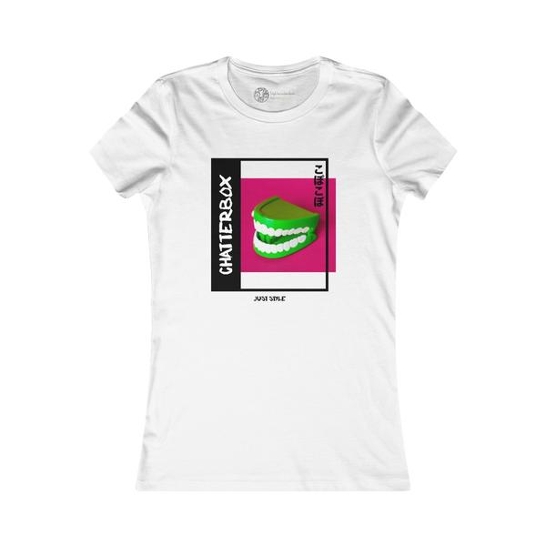 White | Chatterbox T-Shirt - Style has no boundaries.com