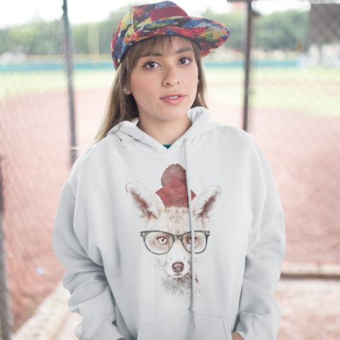 Cold Fox College Hoodie