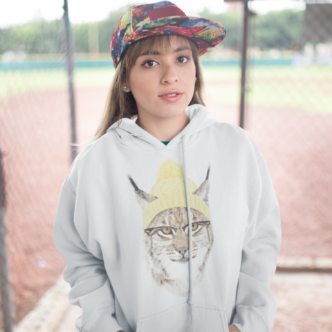 Cold Cat College Hoodie - Style has no boundaries.com