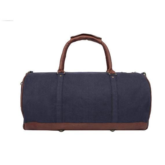 Navy Canvas Duffle Bags - Style has no boundaries.com
