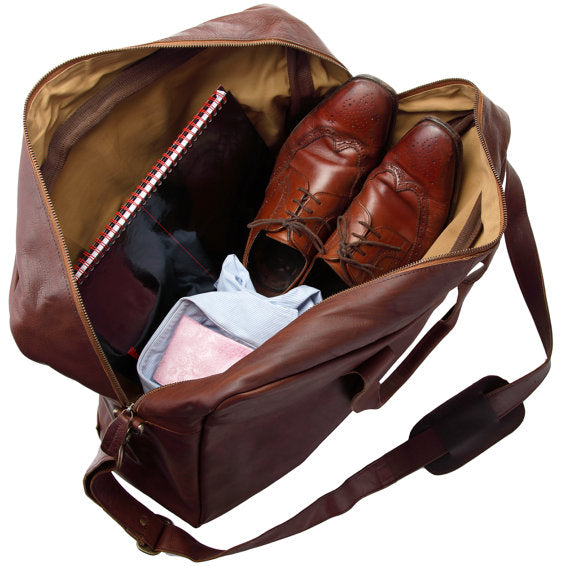 Classic Holdall Vintage Brown - Style has no boundaries.com