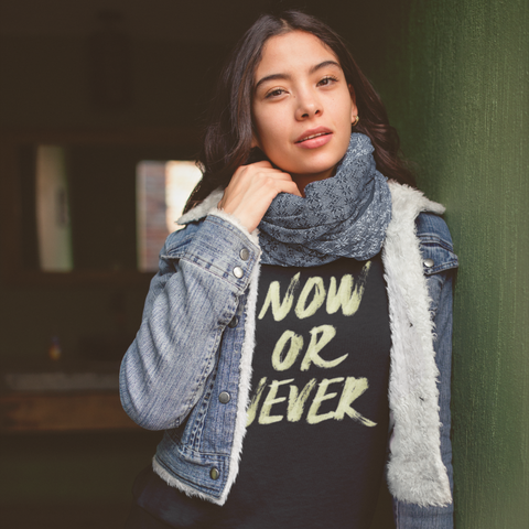 Now Or Never Sweater - Style has no boundaries.com