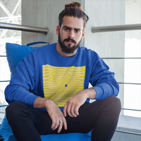 Blue Ending Sweater - Style has no boundaries.com