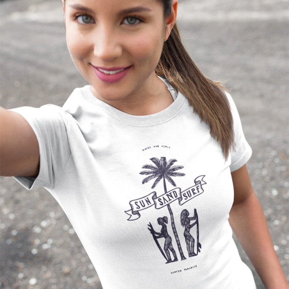 Sun & Surf T-Shirt - Style has no boundaries.com