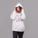 Surf Girl College Hoodie - Style has no boundaries.com