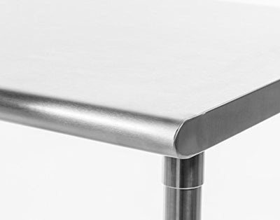 TRINITY EcoStorage NSF Stainless Steel Table, 48-Inch