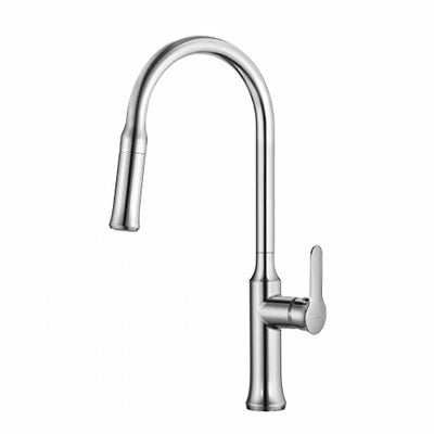 Kraus KPF-1630CH Nola Single Lever Pull-down Kitchen Faucet Chrome Finish